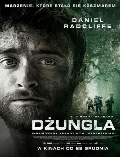 Dżungla / Jungle (2017) PL.480p.BRRip.XViD.AC3-MORS / Lektor PL