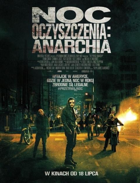 Noc oczyszczenia: Anarchia / The Purge: Anarchy (2014) PL.480p.BDRip.x264.AC3-MiNS / Lektor PL