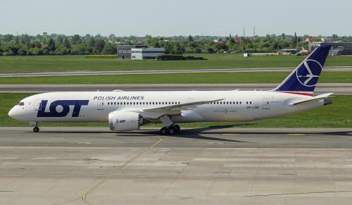 Najnowszy Dreamliner dla LOTu, prosto z fabryki w Everett - kolejny 787-9