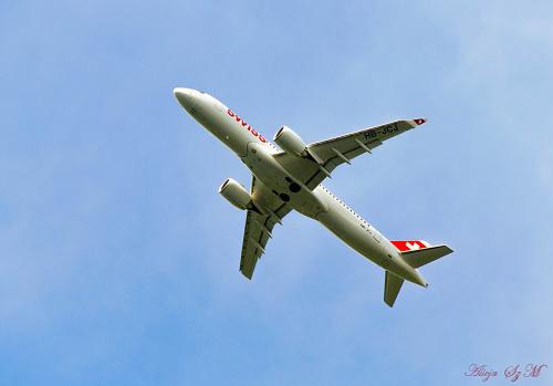 Samolot Szwajcarskich Linii Lotniczych-SWISS-