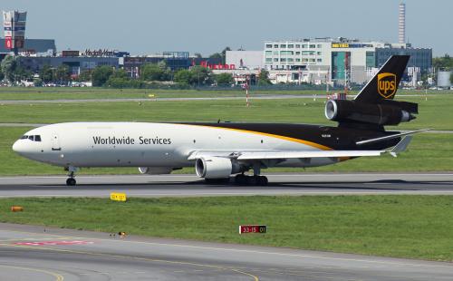 MD11 UPS Cargo - to ostatni rok, w którym ten samolot będzie nas odwiedzał, zanim na stałe nie zostanie zastąpiony przez nowsze modele samolotów