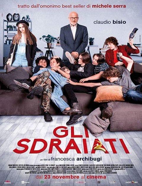 Kanapowcy / Gli sdraiati (2017) PL.480p.BRRip.x264-Lcs / Lektor PL