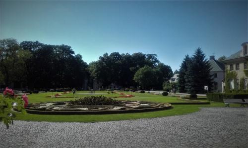 piękne ogrody w Kozłówce