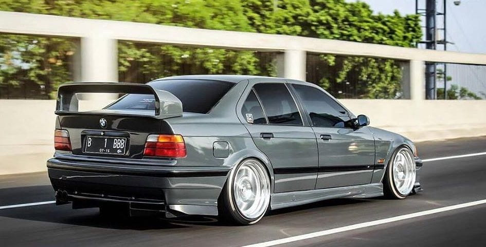 bmw e36 3er class ii 2 m3 gt boot spoiler ebay. Black Bedroom Furniture Sets. Home Design Ideas