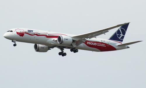 Najnowszy Dreamliner dla LOTu będzie latał do USA i Kanady