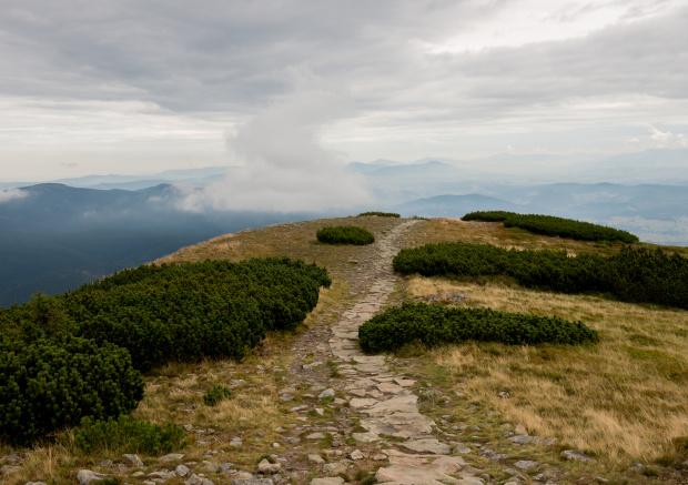 Chodnik na Babią Górę