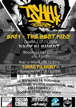 Wykłady, warsztaty, pokazy filmowe – Katowice 2016