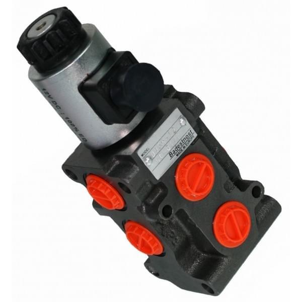 12v Hydraulic Selector Valve : Hydraulic solenoid diverter selector valve quot l min
