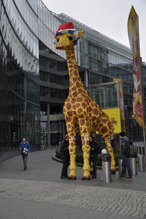 Żyrafa z LEGO