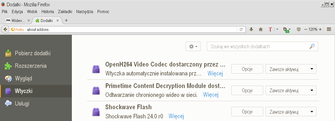 how to install widevine content decryption module firefox