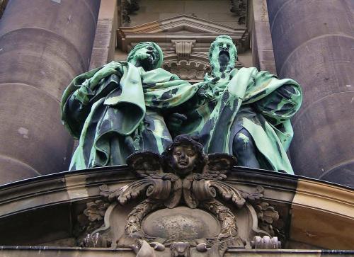 detal portalu z Katedry w Berlinie