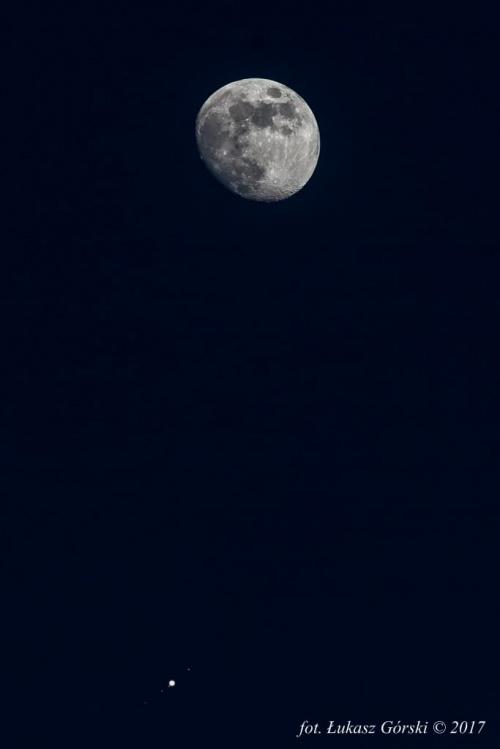 Koniunkcja Jowisza z Księżycem