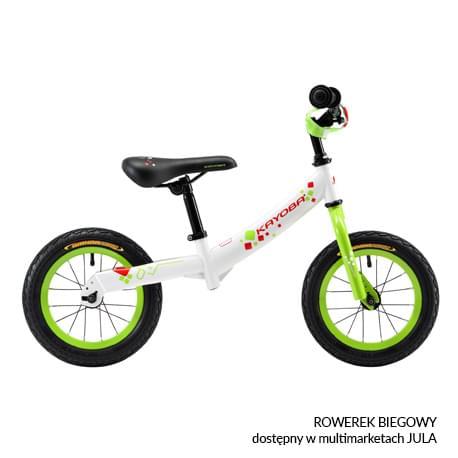 Rowerek biegowy dostępny w sieci multimarketów JULA