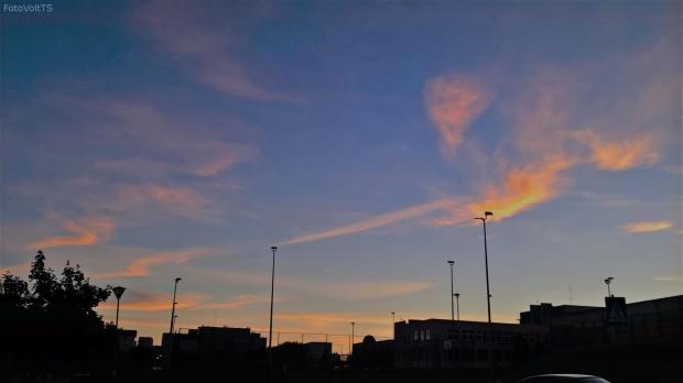 #evening #clouds #sky