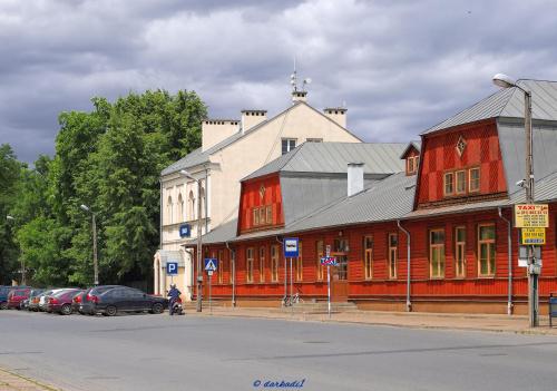Budynek dworca kolejowego – Dęblin