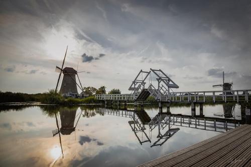 wrześniowy Kinderdijk