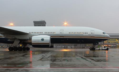 Boeing 777 do Nowego Jorku. Prawdziwy olbrzym :)