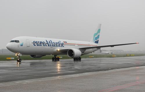 Portugalski Euroatlantic latający dla LOTu na kierunkach za Ocean :)