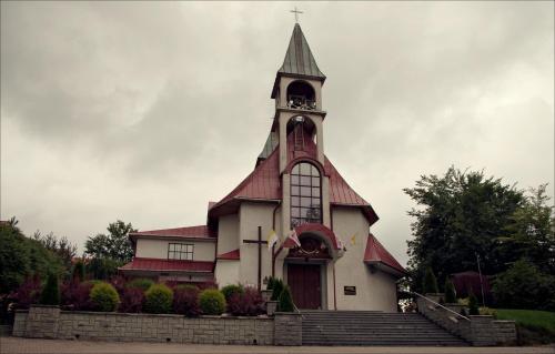 Kościół w Ponicach k. Rabki Zdrój