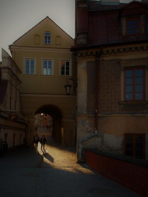 Brama Grodzka widok od strony zamku
